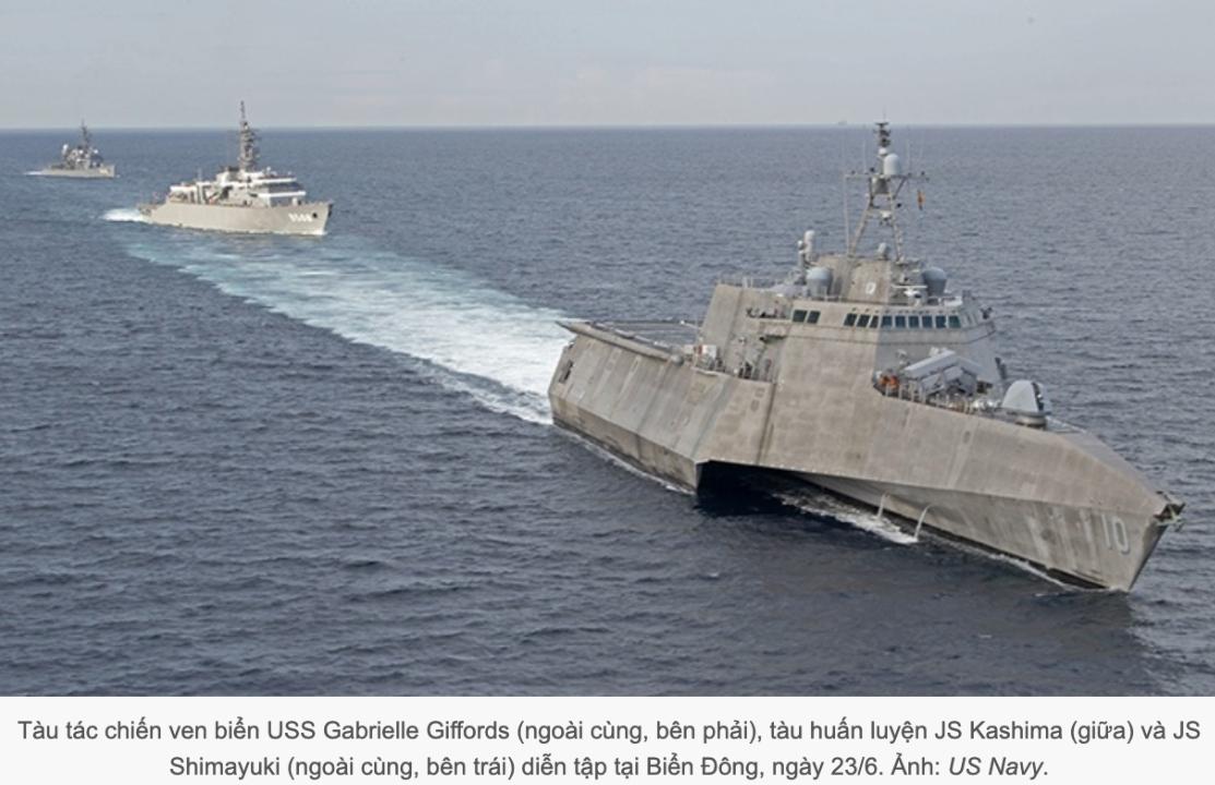 Dự luật hải cảnh Trung Quốc: nguy cơ xung đột